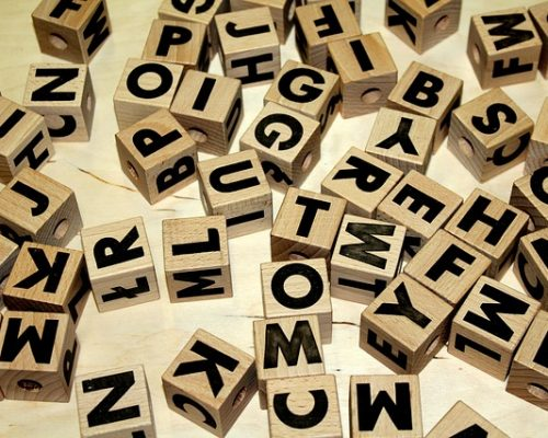 Lettere per logopedia